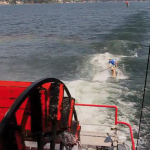 Paddle wheel SUP surfing