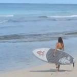 Alex Cole SUP Surfing, Barbados June 2013