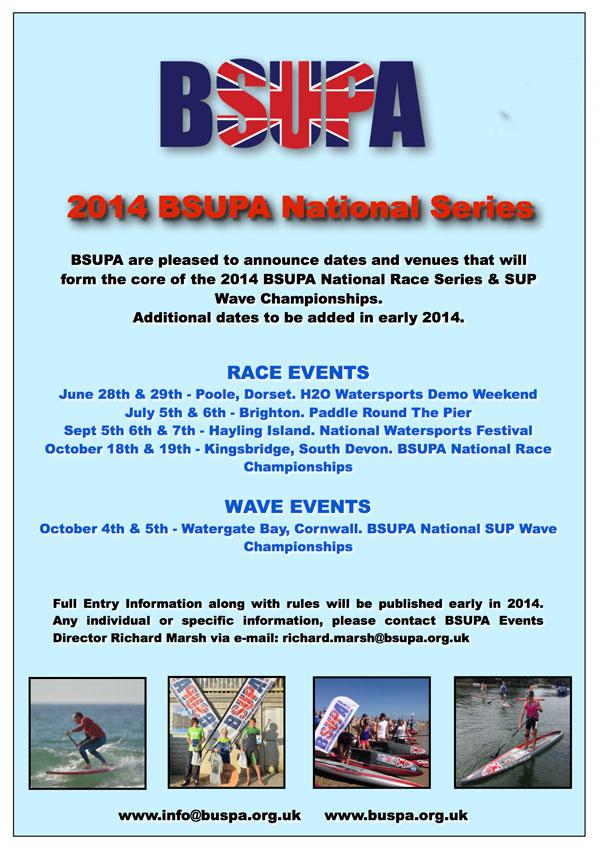 BSUPA National SUP Wave Championships @ Watergate, Cornwall