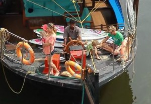 A SUP family adventure in India