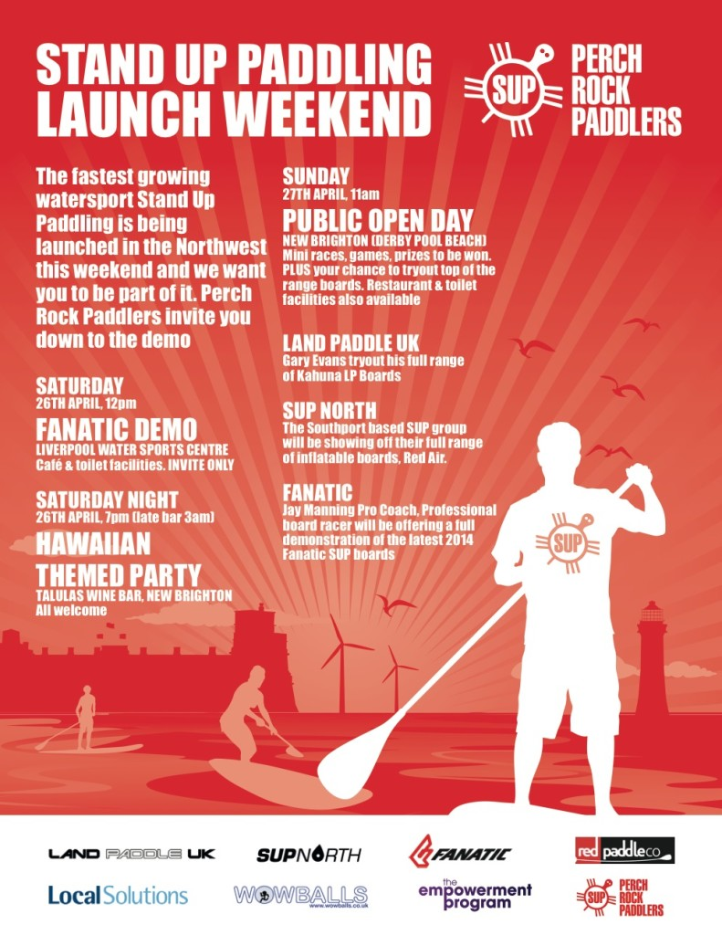 Perch Rock Paddlers SUP weekend @ New Brighton