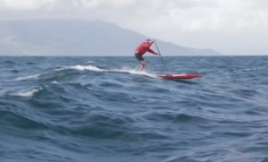 Sam Thom Great Barrier Island SUP mission