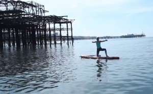 SUPyoga Brighton West Pier