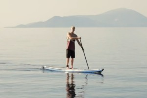 Stand Up Paddleboarding in Vassiliki