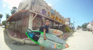 With out a doubt one of the nicest guys in SUP, Justin Holland from Australia, is definitely a man to inspire to, on and off the water.