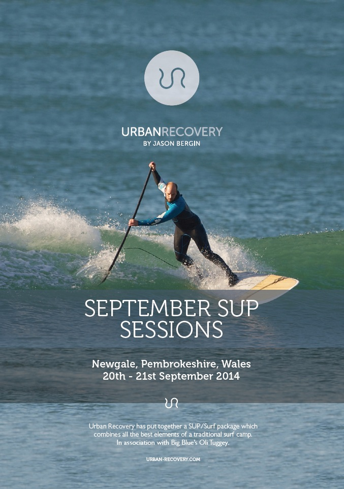 September SUP Surf sessions @ Pembrokeshire, South Wales.