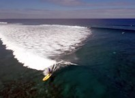 SUP surf drone - Compilation