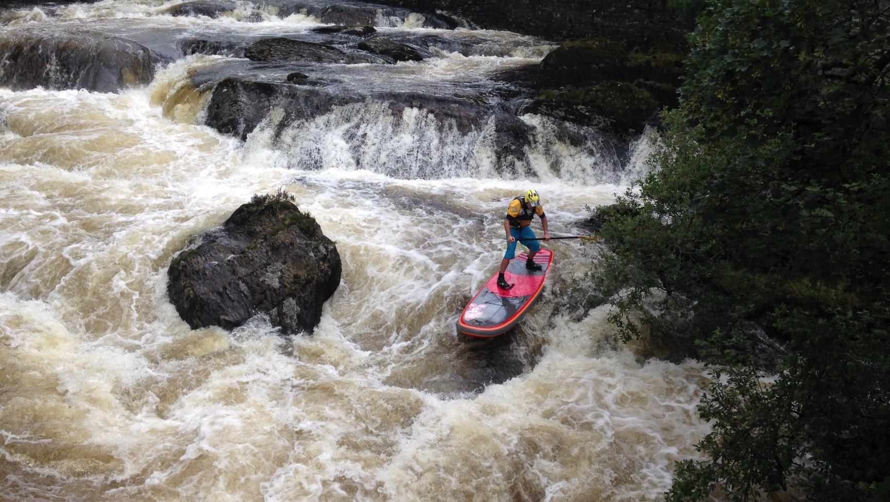 Ben Payne Starboard SUP white water