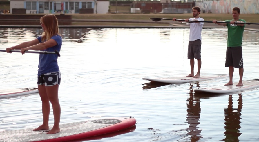 Can you get a Cardio Workout on a SUP?