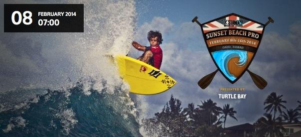 2014 Sunset Beach Pro