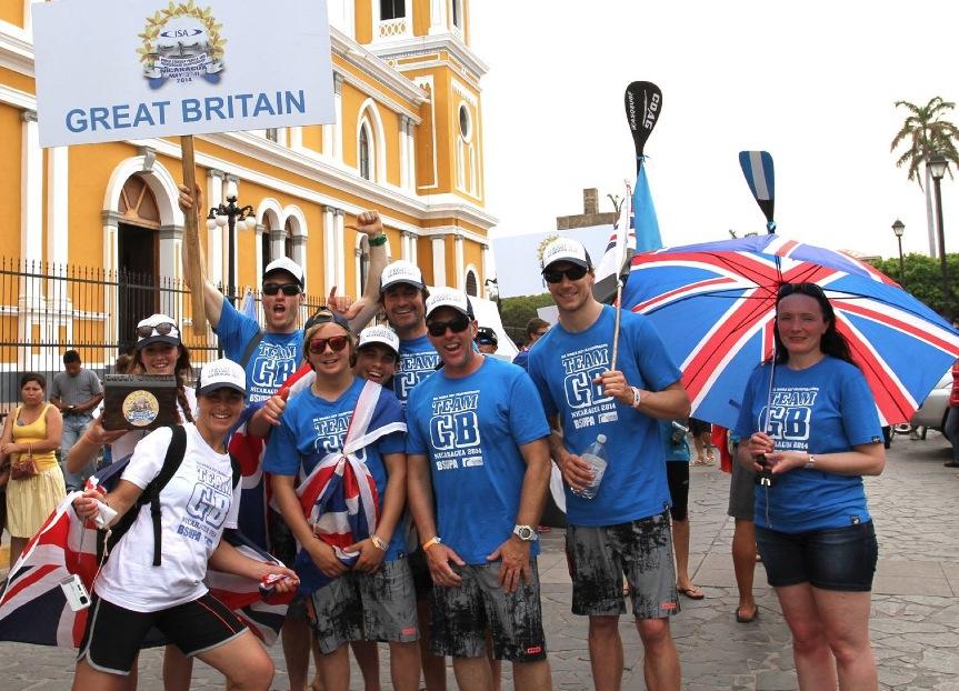 Team GB talk : Nicaragua