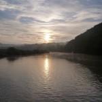 Sunrise at Calstock, UK