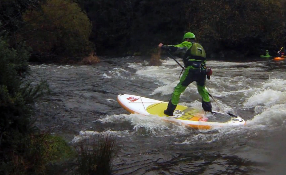 David Jackson UK White Water SUP