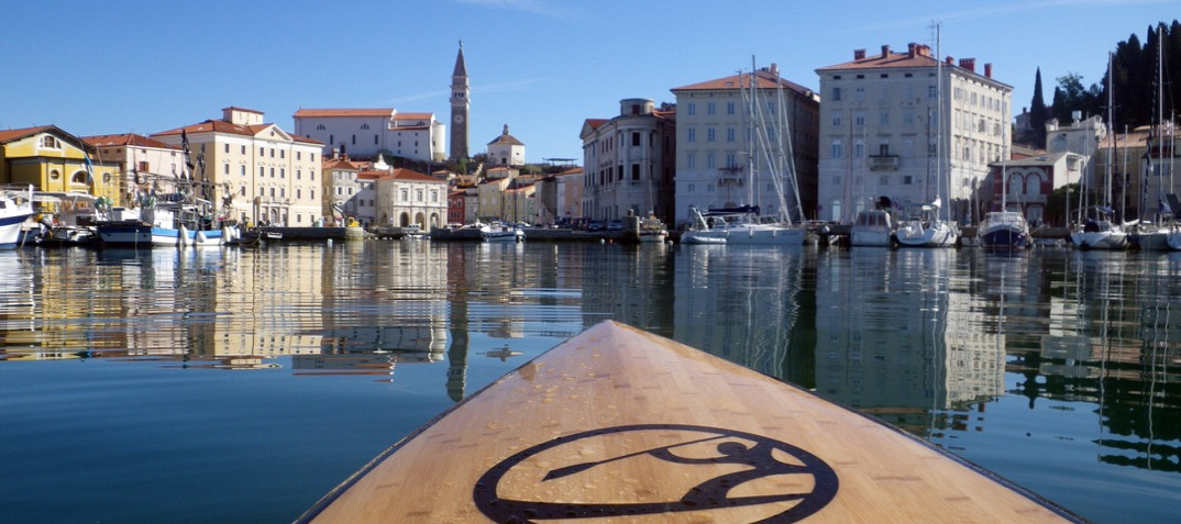 Discover a new SUP spot every day: Piran, Slovenia