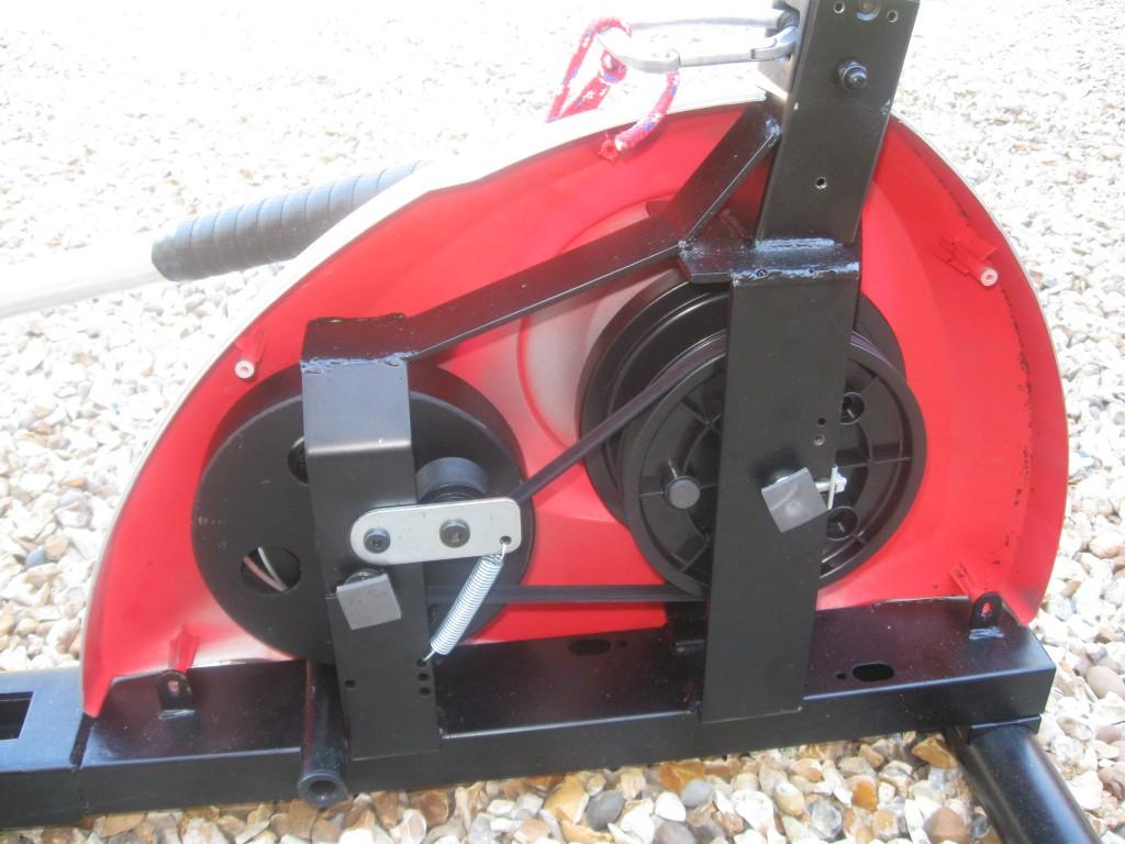 Rowing machine internal mechanism