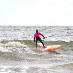 Scottish SUP surfers