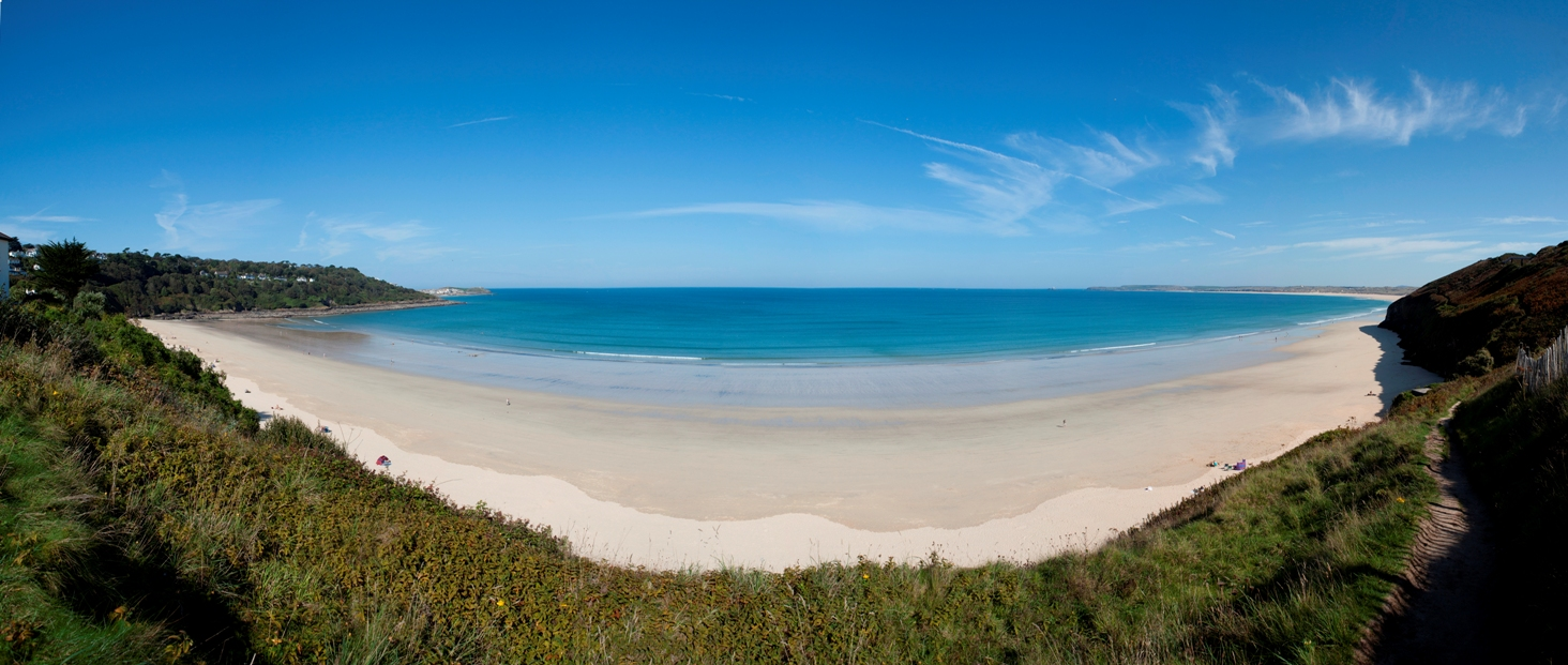 Carbis Bay panoramic
