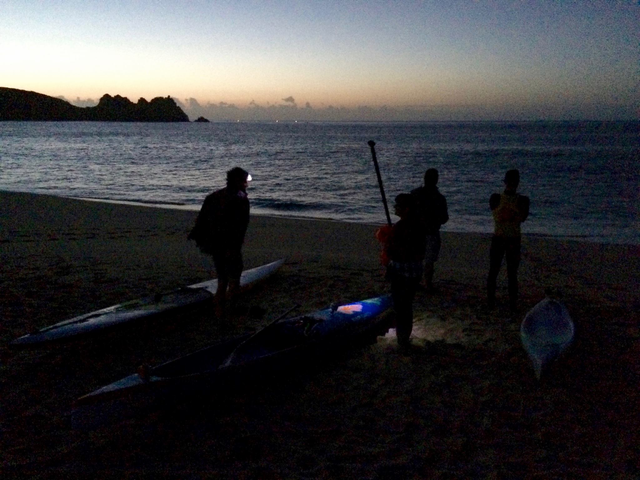 SUP boarders ready to go. Image Pierre Lopez