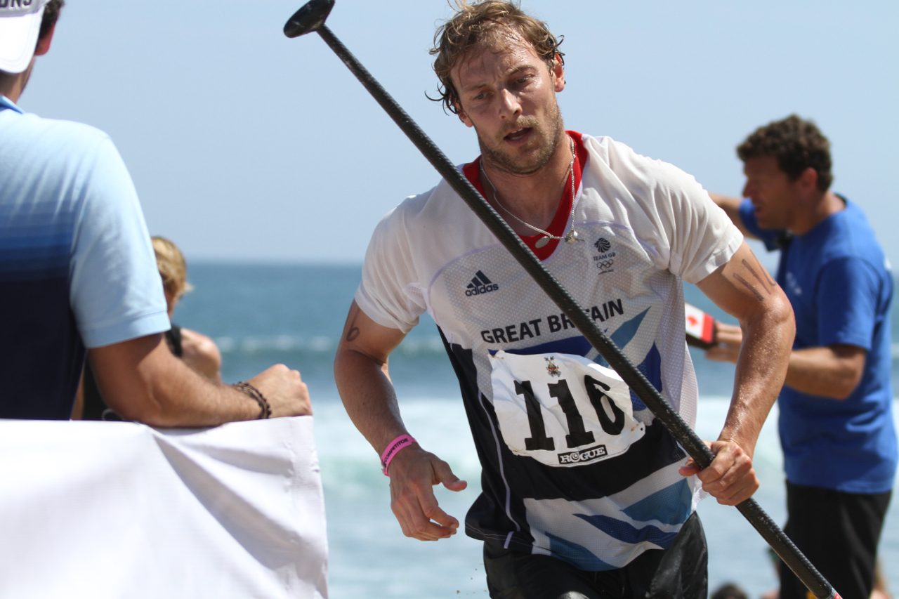 Ollie Shilston in action in Mexico at the 2015 ISA