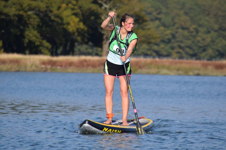 Jennifer at the AV Race