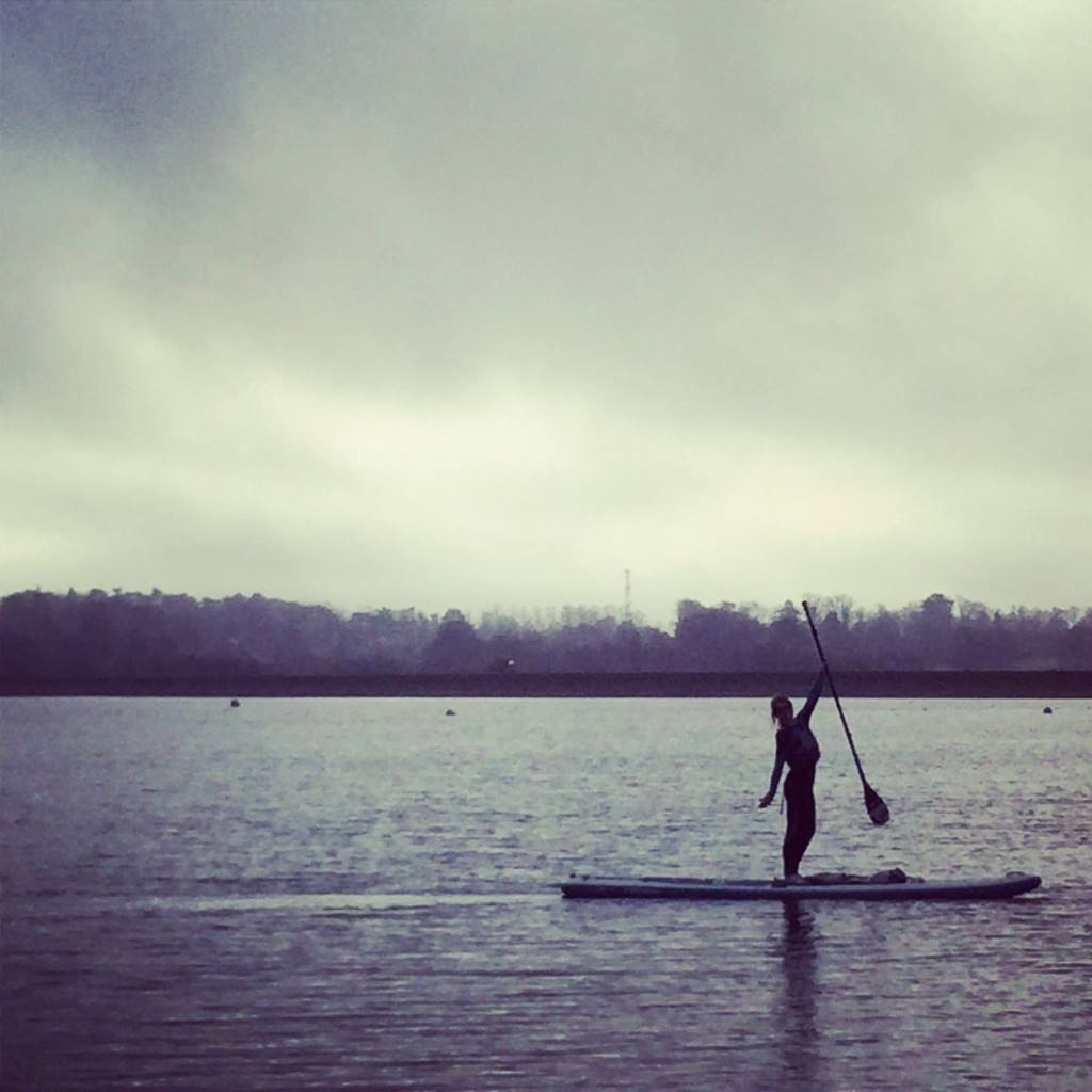 """Adrianne Hill trying out her Red Paddle Explorer 13'2"""""""