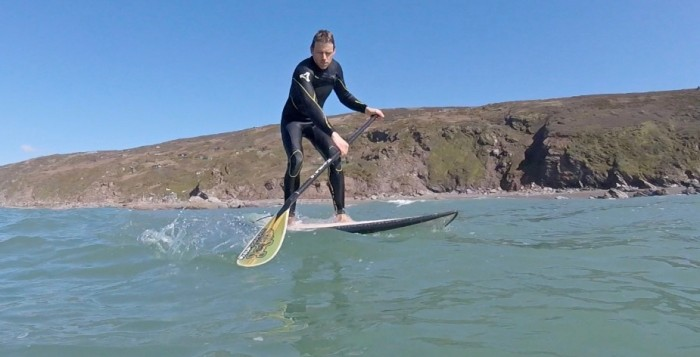 How to SUP Videos / Surf – 'The Brace Technique'