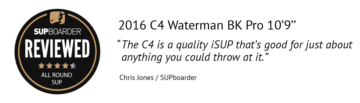SUP Review – C4 Waterman BK Pro 10'9″