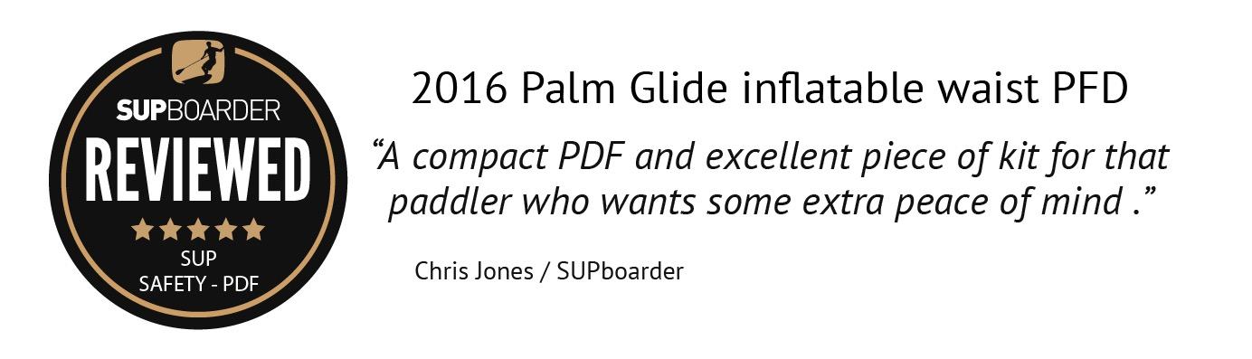 Reviewed - Palm Glide Inflatable Waist PFD