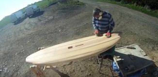 Making a wooden SUP