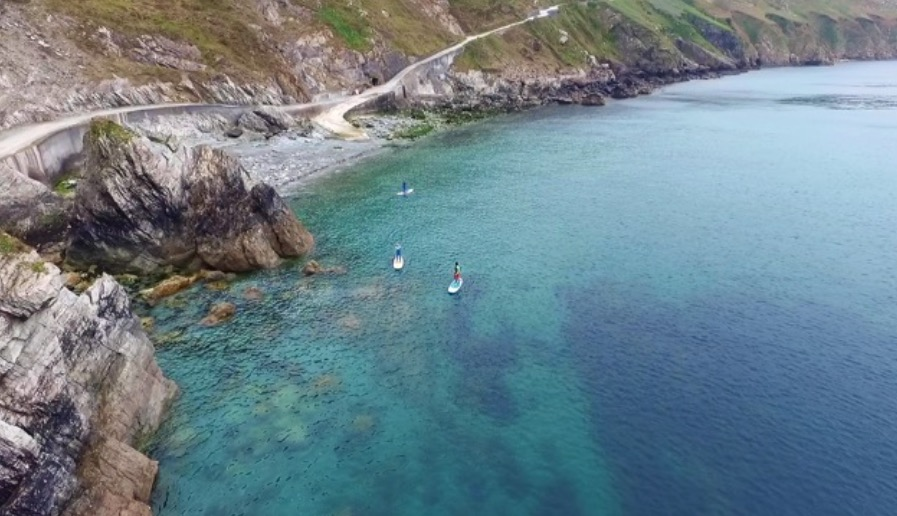 Discovering Lundy by SUP - Lundy Island SUP Tours