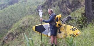 Surf SUP the Azores Islands - Stephane Etienne & Nicole Boronat