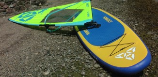 O'Shea Wind SUP review - WindSUP iSUP