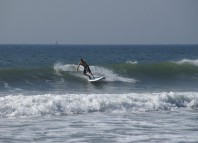 Surfing an iSUP