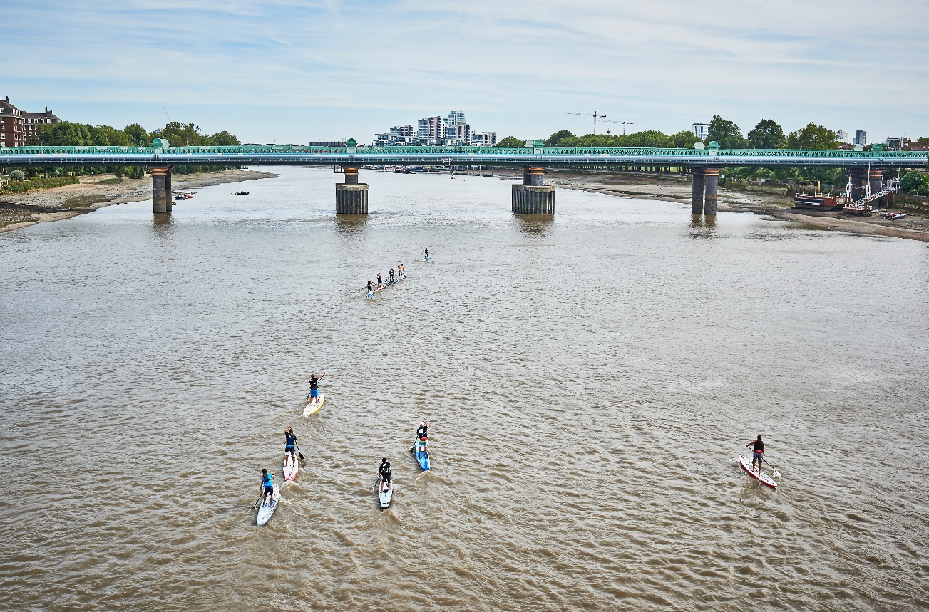 Big Ben SUP race Photo : Matthew Joseph