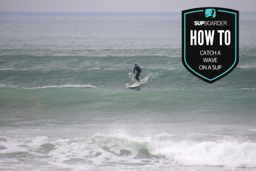 Catching a wave on a SUP - Timing your turn