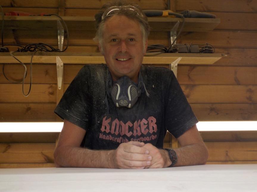 Jon Knocker White - the man in the making