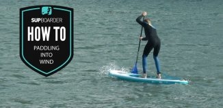 Paddling into wind - How to VIDEO