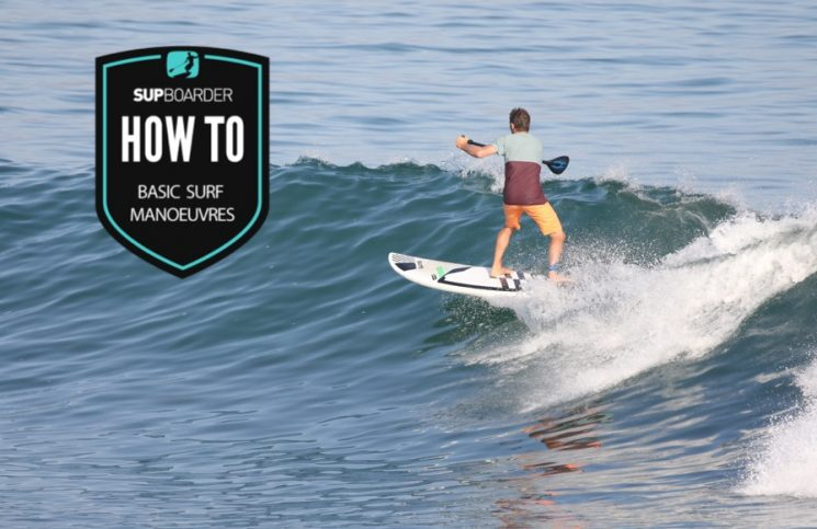 Basic SUP surfing manoeuvres