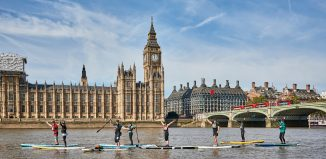 Big Ben SUP Challenge - event summary