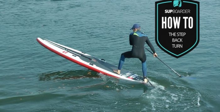 Step Back Turn / How to SUP videos