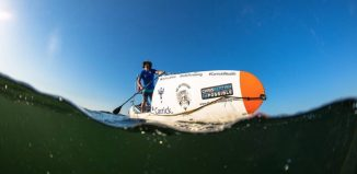 The amazing 'The SUP Crossing' with Chris Bertish