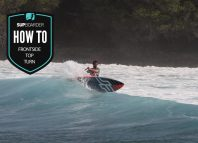 The frontside top turn / how to SUP videos