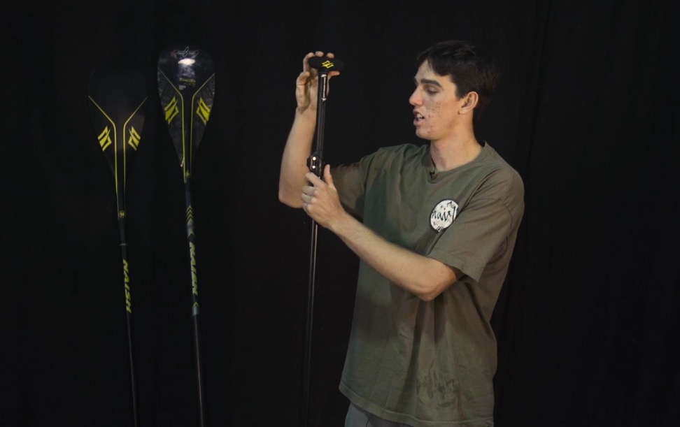Kody Kerbox talks about SUP paddle lengths & size