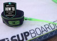 SUP leashes / tips & maintenance