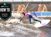 The backside cutback / how to SUP videos