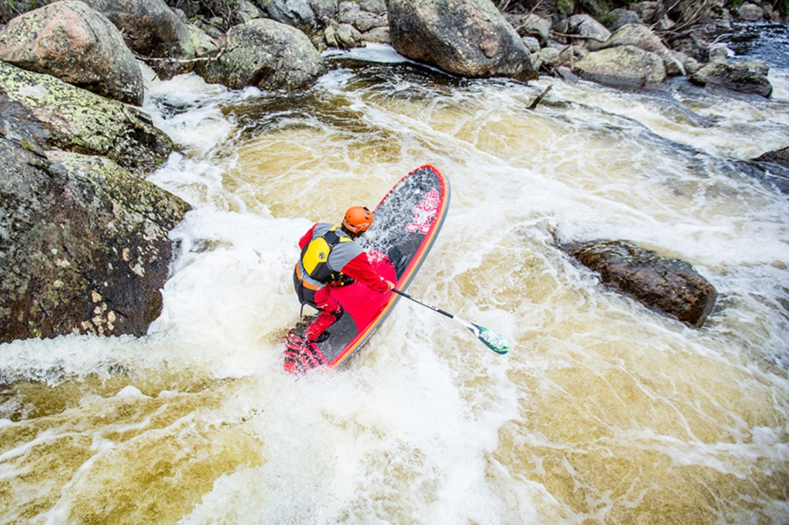 Dan Gavere - whitewater SUP