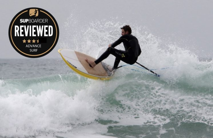 Naish Mad Dog Barebones 8'6'' 2017 review / Advanced Surf
