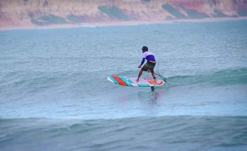 SUP Foiling heaven but it doesn't have to be!
