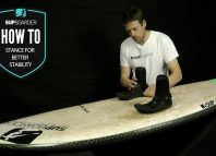 SUP stance for better stability / How to Video
