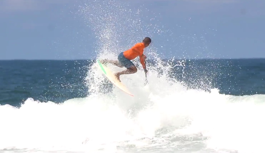 performance SUP surfing